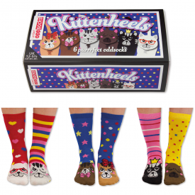 Kittenheels Sock Gift Set for Girl's