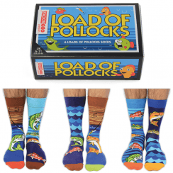 Load of Pollocks Socks Gift Set for Men