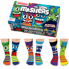 Mashers Socks Gift Set for Boy's