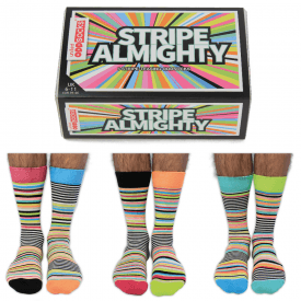 Men's Stripe Almighty Socks Gift Set