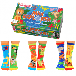 Mini Explorer Socks Gift Set for Little People