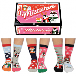 Misteltoes Socks Gift Set for Women