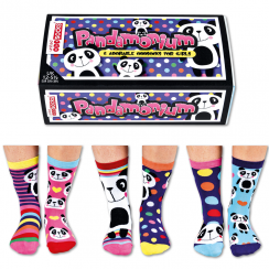Pandamonium Sock Gift Set for Girl's