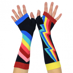 Rainbow Lighting Armwarmers