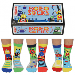 Robo Socks Gift Set for Little People