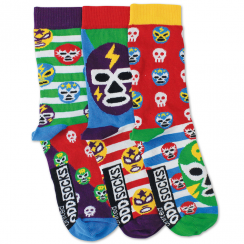 Set of 3 Mask Socks for Boys