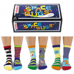 Space Bugs Sock Gift Sets for Boy's