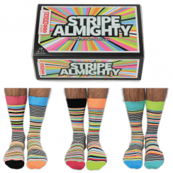 Stripe Almighty Socks Gift Set