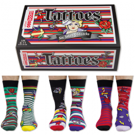 Tattoes Socks Gift Set for Men