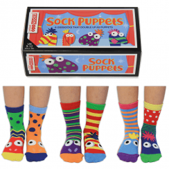 The Sock Puppets Socks Gift Set for Little People