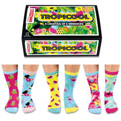 Tropicool Bright Socks Gift Set