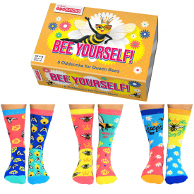 Women's Bee Yourself Socks Gift Set