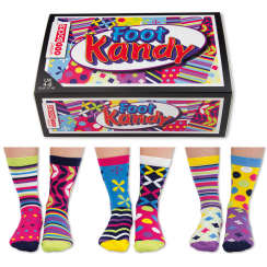 Women's Foot Kandy Socks Gift Set