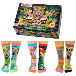 Women's Jungle Fever Socks Gift Set