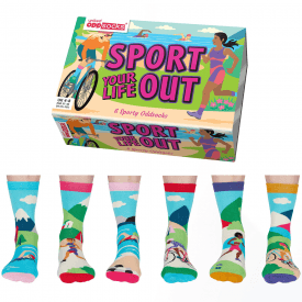Women's Sport Your Life out Socks Gift Set
