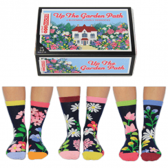Women's Up the Garden Path Socks Gift Set