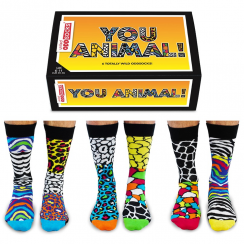 You Animal Socks Gift Set for Men