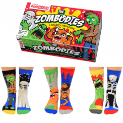 Zombodies Socks Gift Set for Boy's