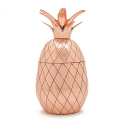 Pineapple Tumbler, 12 oz in Copper