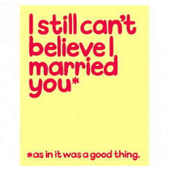 Waldo Pancake Can't Believe I Married You Card