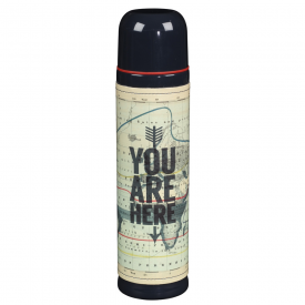 Cartography Vacuum Flask 500ml