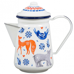 Folklore Coffee Pot, Sunrise Hare