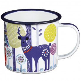 Folklore Day Enamel Mug