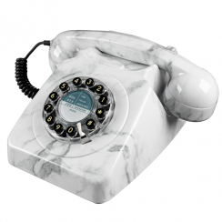 Marble Push Button 746 Retro Phone