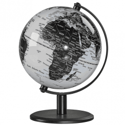 "Monochrome 6"" Desk Globe"