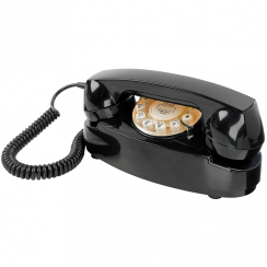 Princess Black Retro, Push Button Telephone