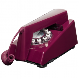 Trim Phone in Plum