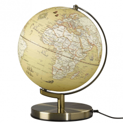 Wild Wood Vintage Globe Light 10""