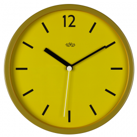 Wild Wood, Wall Clock in English Mustard