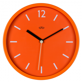 Wild Wood, Wall Clock in Goldfish Orange