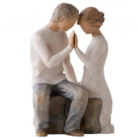Around You Hand Painted Figurine