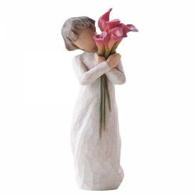 Bloom Hand Painted Figurine