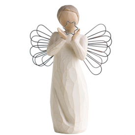 Bright Star Hand Painted Figurine