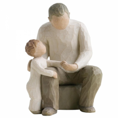 Grandfather Hand Painted Figurine