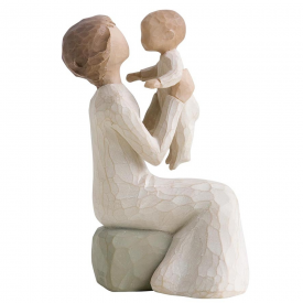 Grandmother Hand Painted Figurine