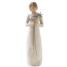 Grateful Hand Painted Figurine
