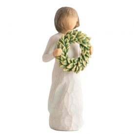 Magnolia Hand Painted Figurine