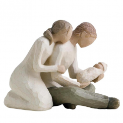 New Life Hand Painted Figurine