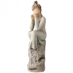 Patience Hand Painted Figurine