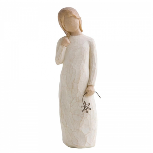Remember Hand Painted Figurine
