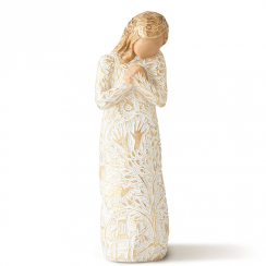 Tapestry Hand Painted Figurine