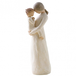 Tenderness Hand Painted Figurine