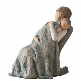The Quilt Hand Painted Figurine