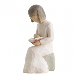 Wisdom Hand Painted Figurine
