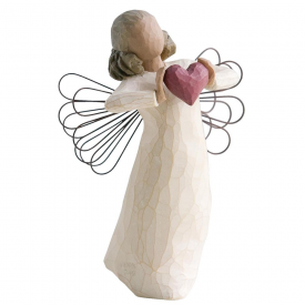 With Love Hand Painted Figurine