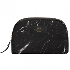 Black Marble Big Beauty Make up Bag